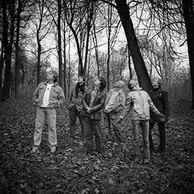 Фото музыкального коллектива Петра Налича. Групповой портрет. Фотограф Николай Рыков