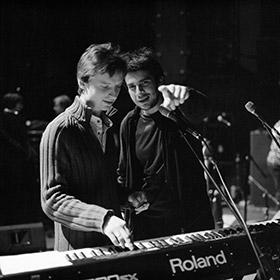 Петр Налич и Швецов в Б1 перед концертом. Фото Николай Рыков