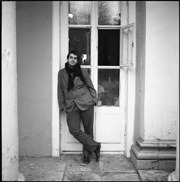 Петр Налич, портрет. Съемка для альбома. Фотограф Николай Рыков