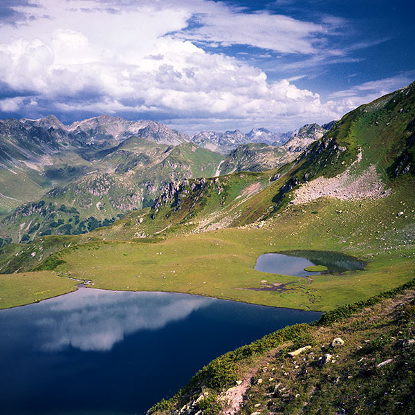 Абхазия. Долина семи озер