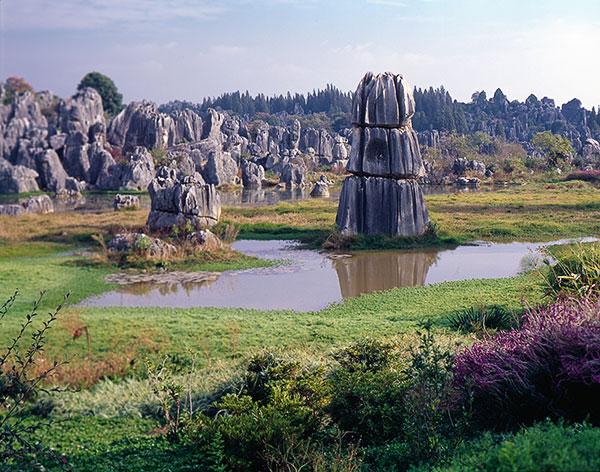 Фото. Национальный парк Китая Stone forest