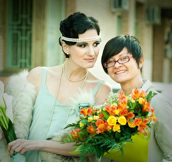 Свадьба на заводе, Фотосъемка
