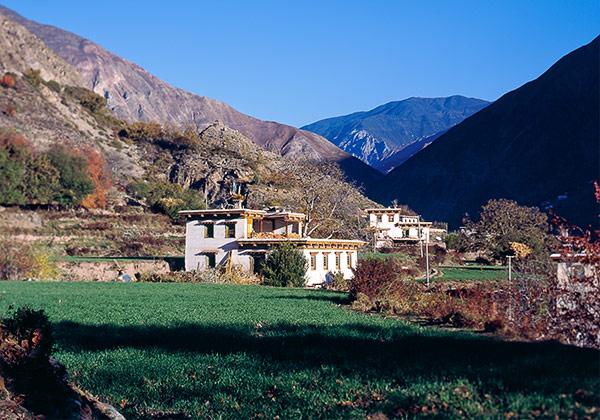 По дороге в Тибет