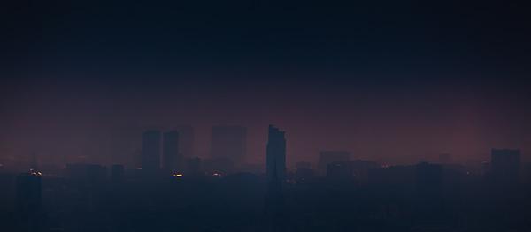 Панорамы утренней Москвы
