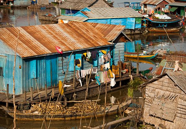 Фоторепортаж из рыбацкой деревни. Камбоджа. Фото Николая Рыкова