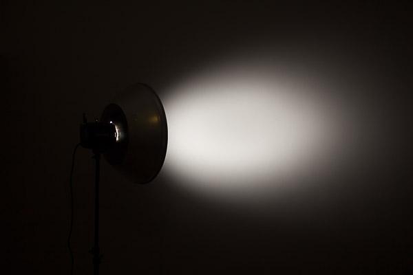 Серебряная портретная тарелка + сотовый фильтр 30 градусов