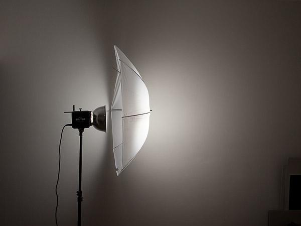 Стандартный рефлектор + зонт на просвет