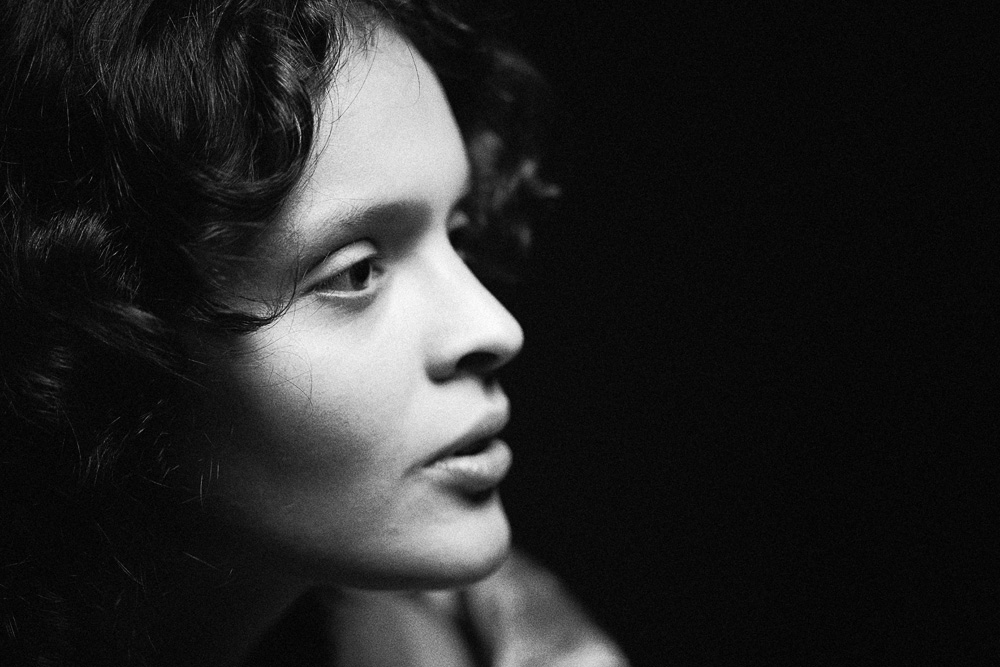 Портрет в студии. Фотограф Николай Рыков