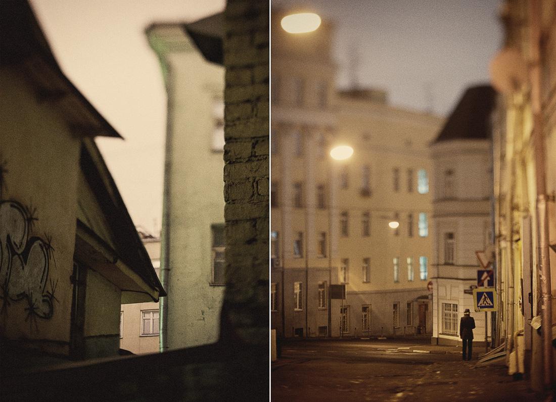 Ночь. Москва