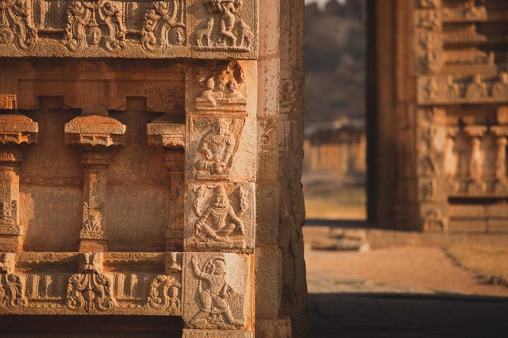 Индия, Хампи - прогулки по деревне