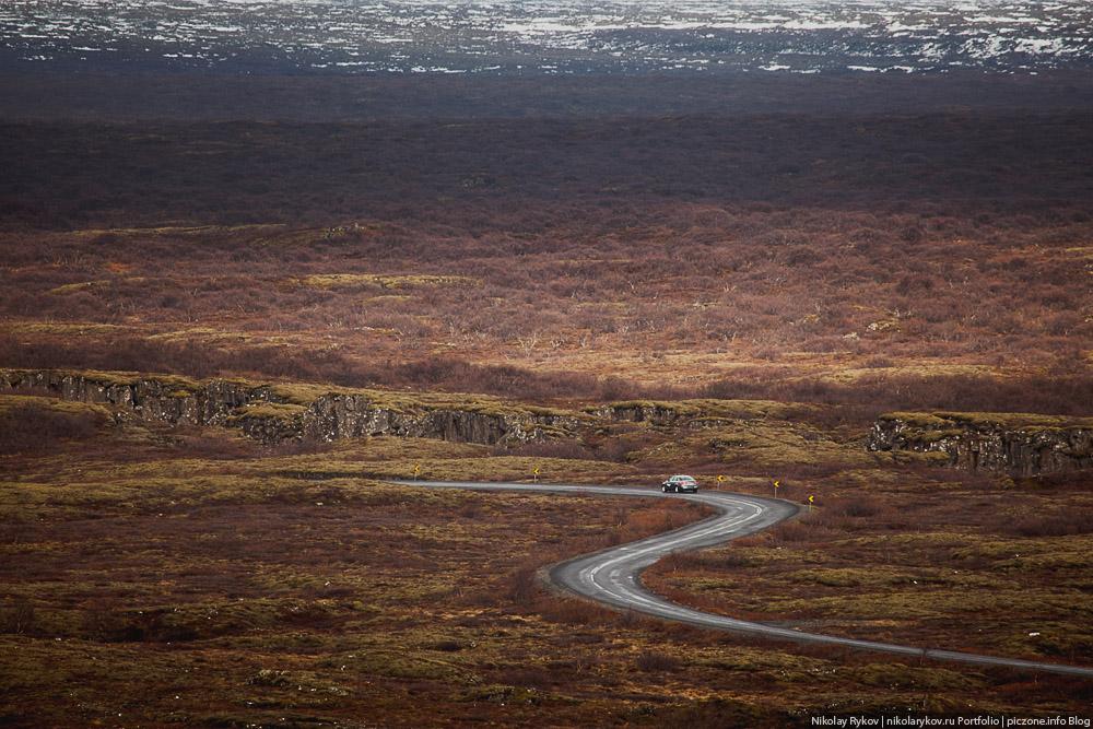 Репортаж Исландия тест-драйв Cordiant фотограф Николай Рыков