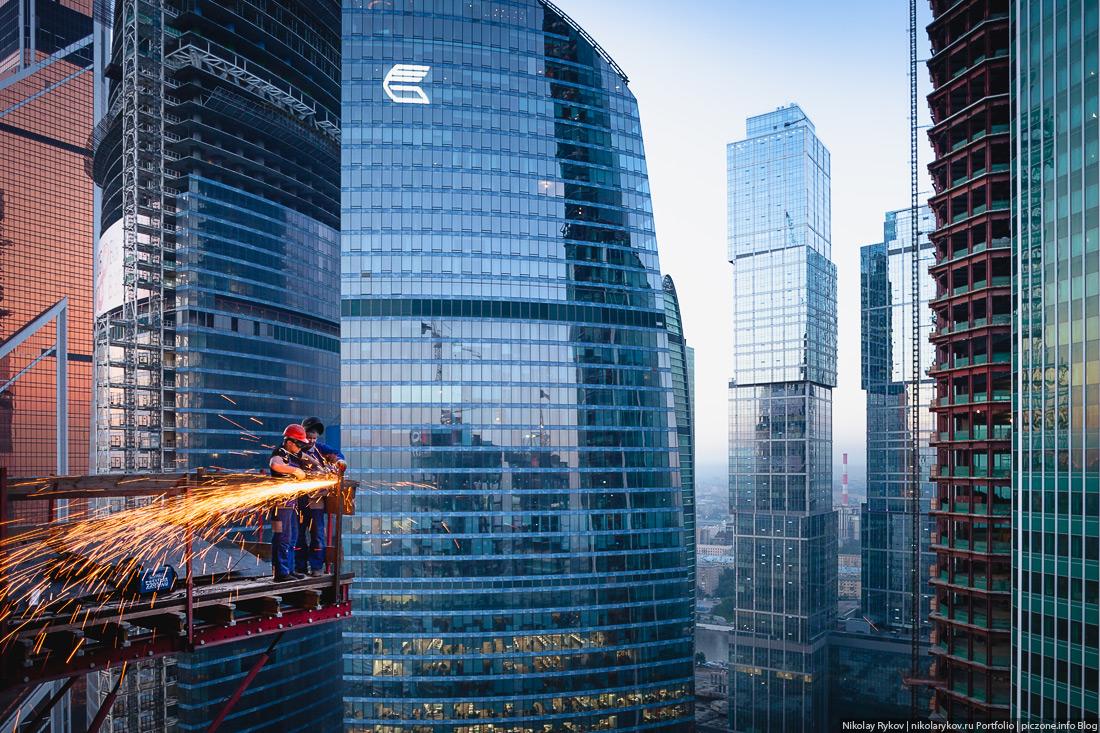 Деловой центр Москвы — комплекс Москва-Сити