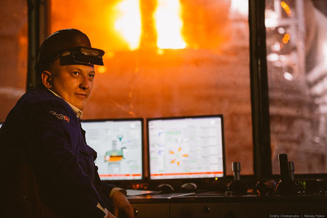 металлургический завод магнитогорск фото