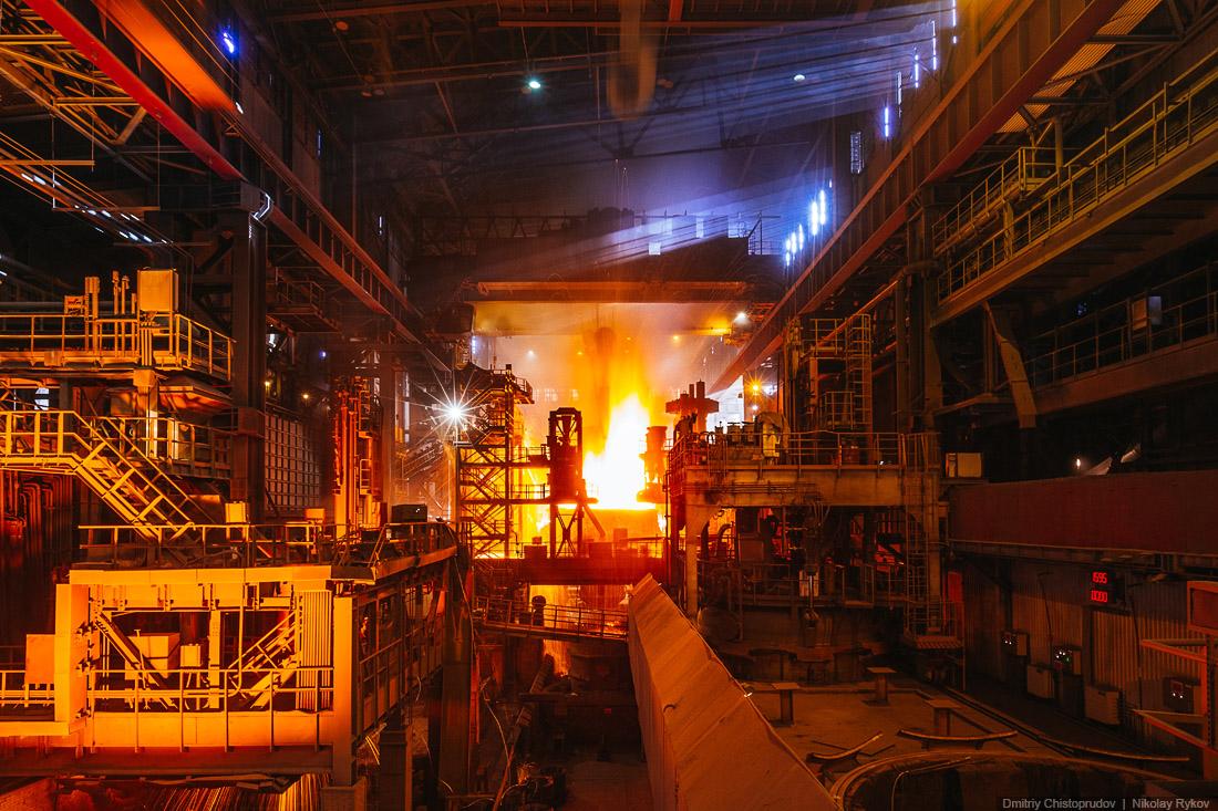 фото репортаж из Первоуральского новотрубного завода
