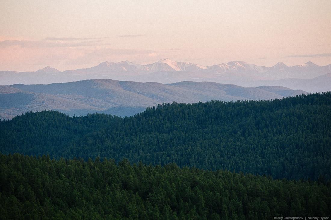 Путешествие на Алтай. Чуйский тракт