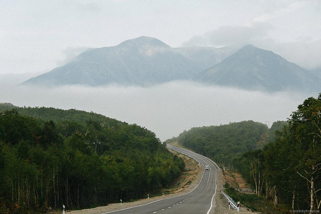 Центральная Камчатка. По дороге на вулкан Толбачик.